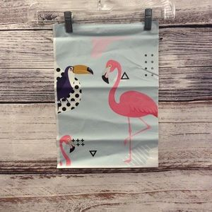 NEW Flamingo/Tucan Bubbleless Poly Mailer Bags